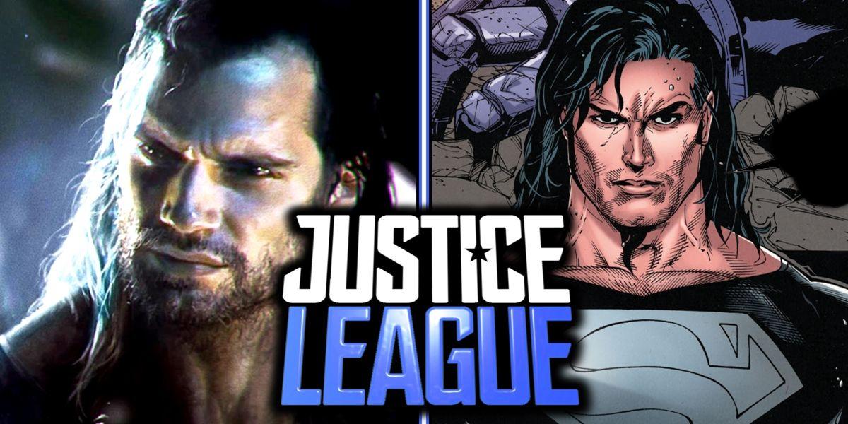 justice league fan art teases mullet superman reborn