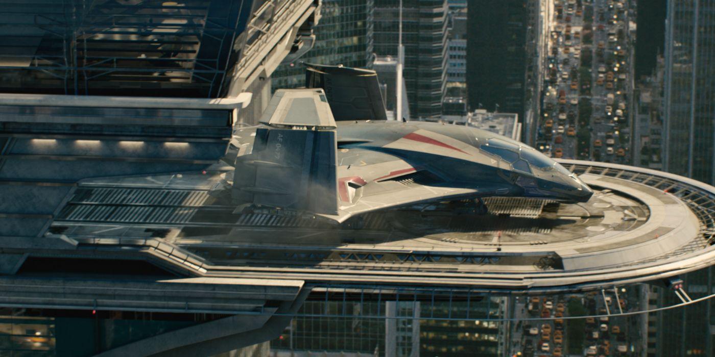 Avengers' Quinjet Spotted on Thor: Ragnarok Set? | ScreenRant  Avengers' Q...