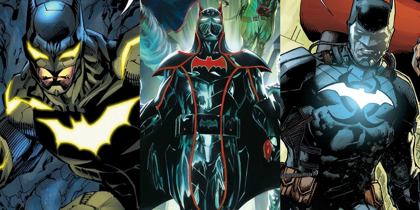 15 Most Powerful Batsuits Of All Time | ScreenRant