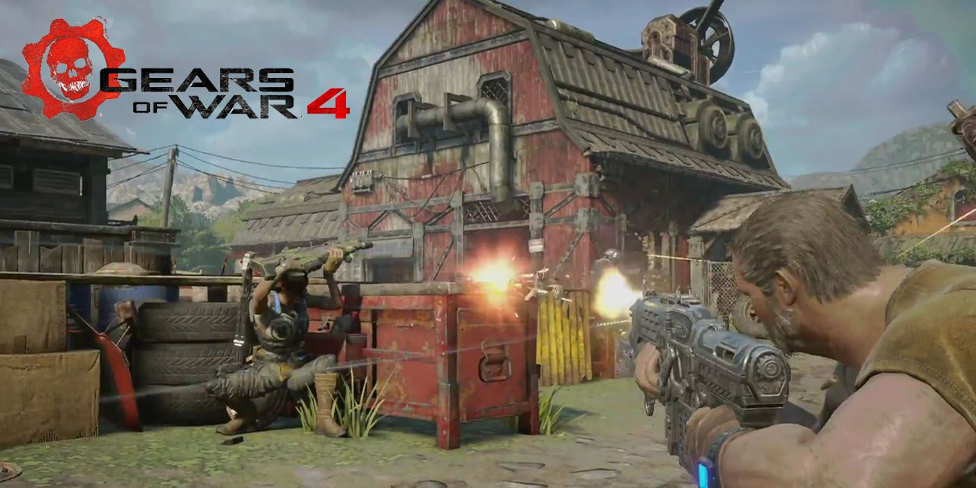 Gears of War 4: Horde Mode 3 0 Trailer   ScreenRant