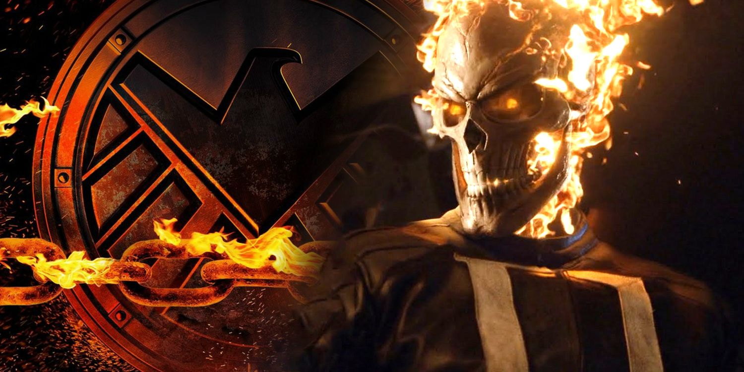 agents of s.h.i.e.l.d. just introduced an all-new ghost rider