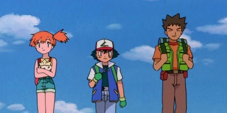 Brock Ash Misty Pokemon