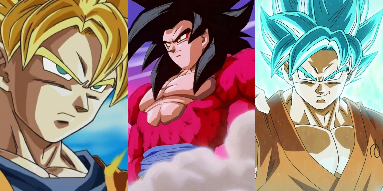 Dragon Ball: Goku's 20 Most Powerful Transformations ...