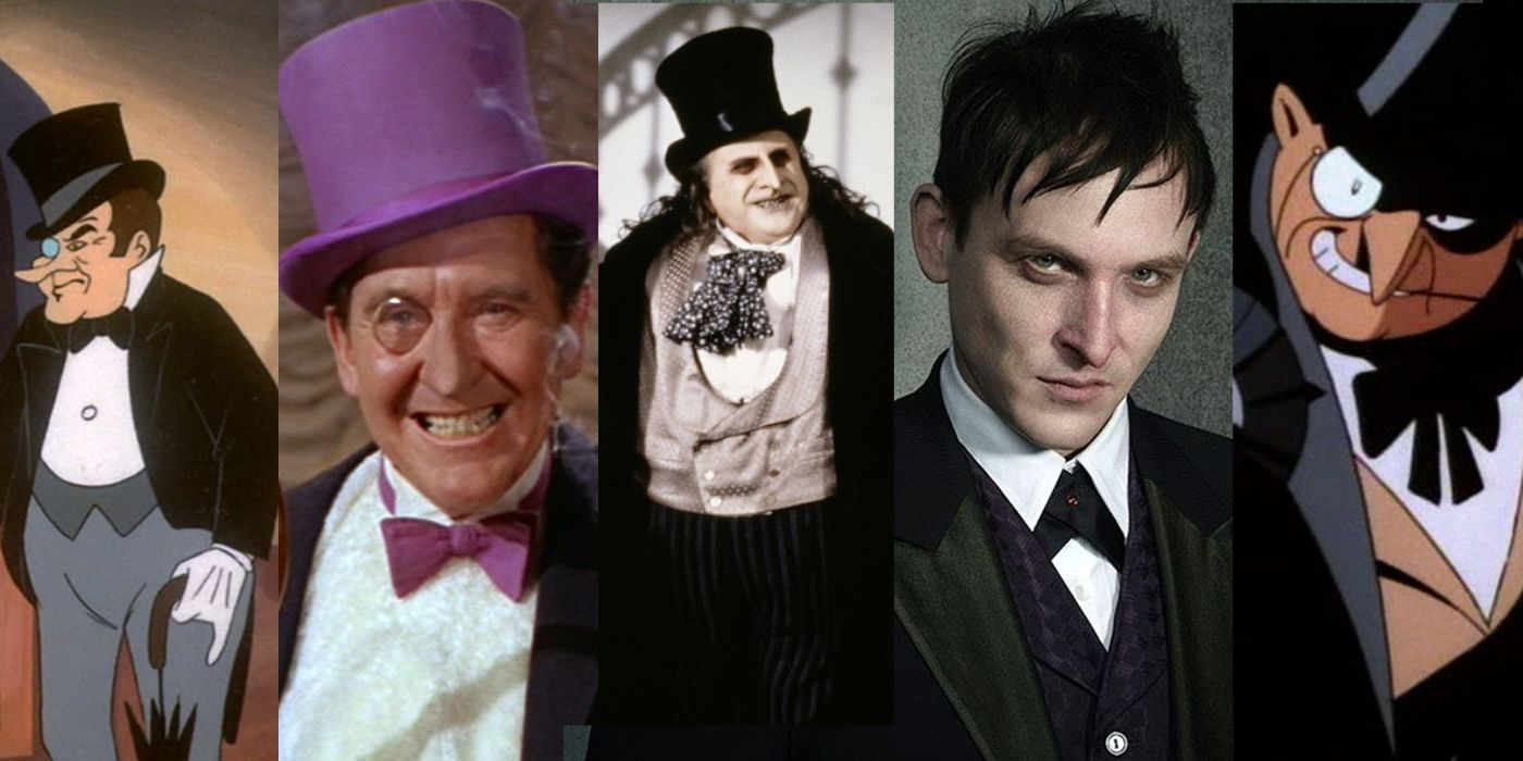 Batman Every Adaptation Of The Penguin Ranked Worst To Best