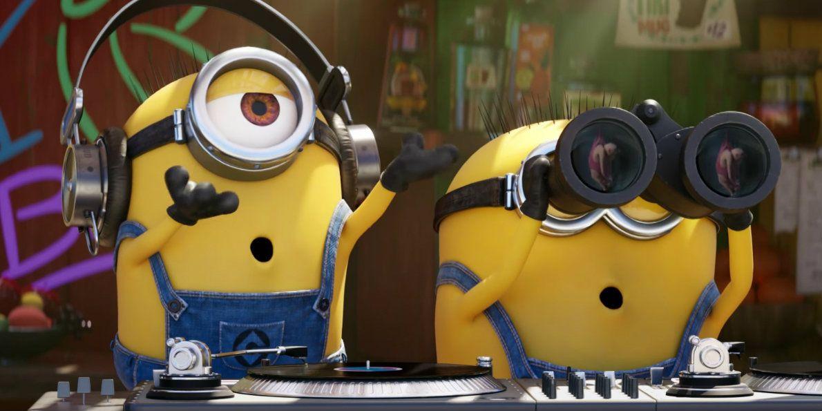 Minion movie release date in Brisbane