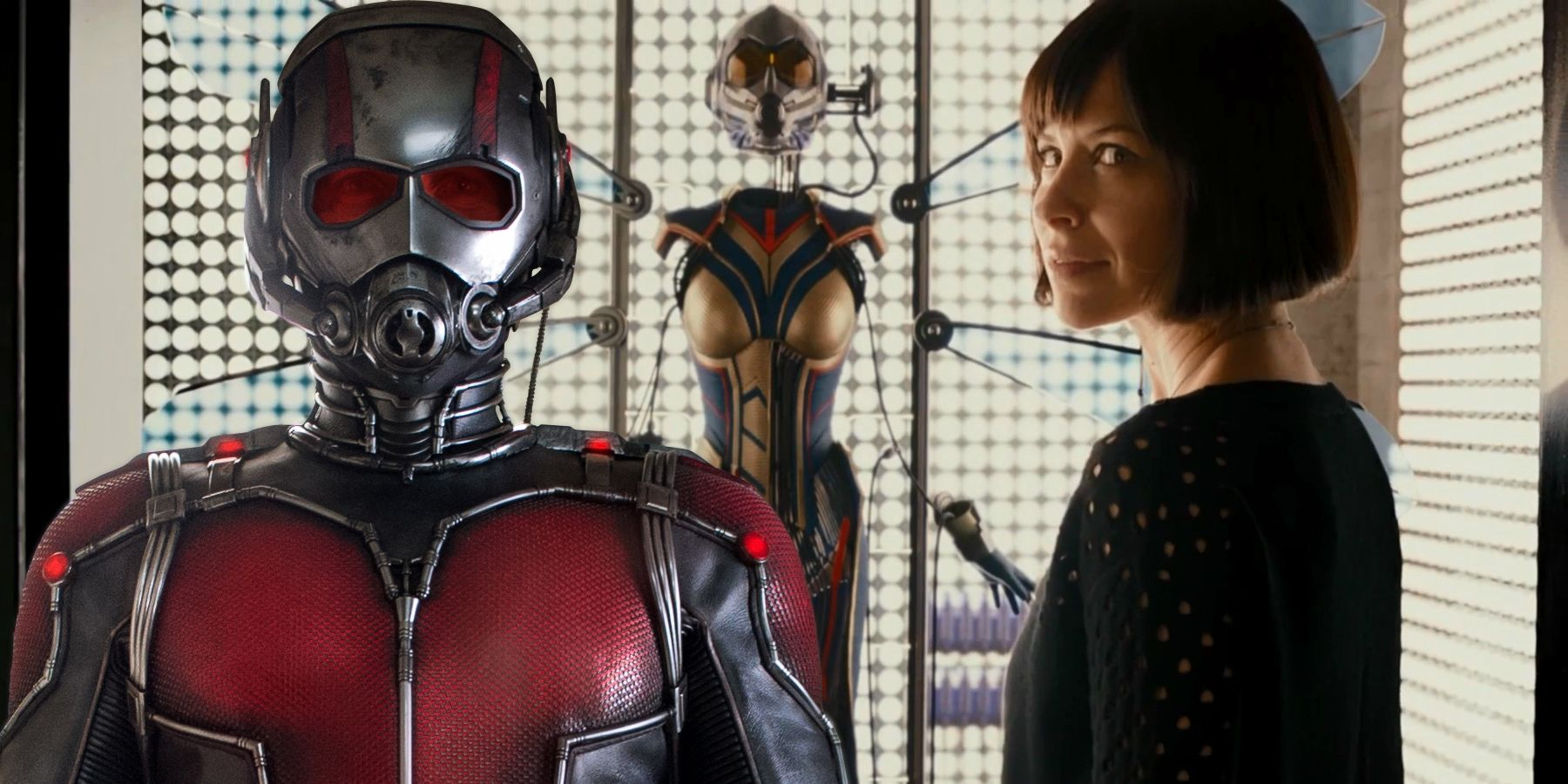 | Wasp Arrives Official and Screen the Rant Logo Ant-Man
