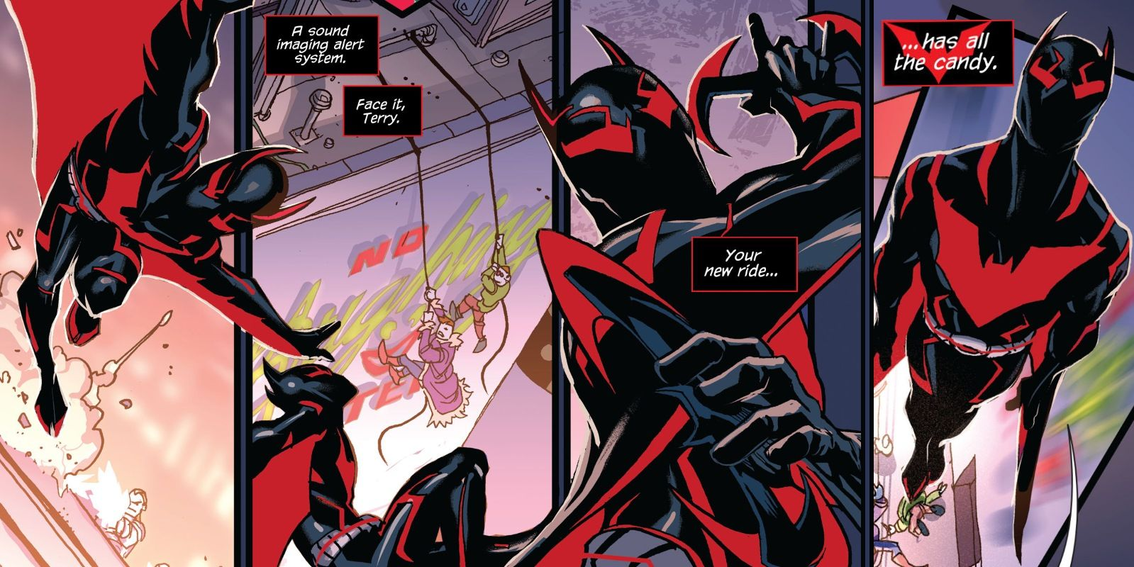Batman Beyond Just Got a New, Better Batsuit | ScreenRant
