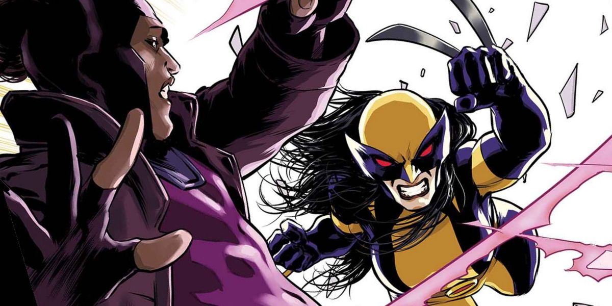 Marvel's New Wolverine Takes on Gambit | ScreenRant X 23 Gambit