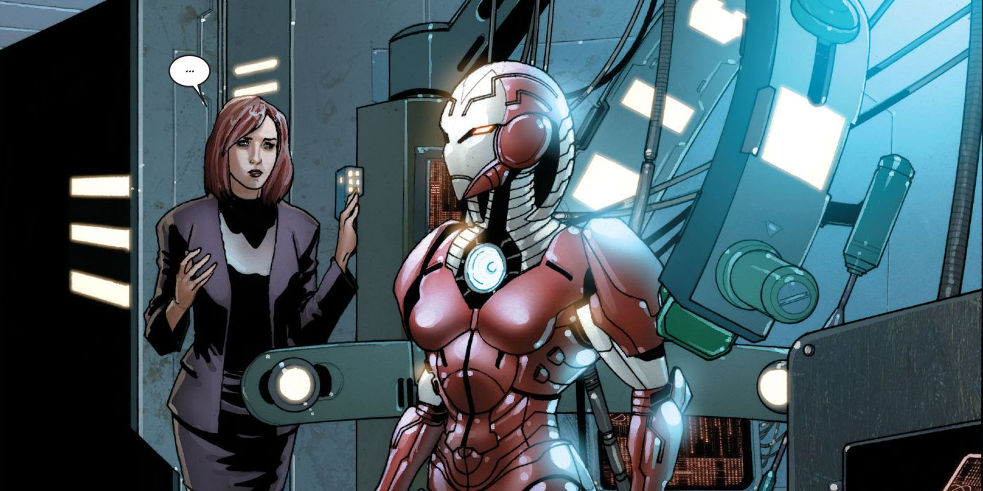 Avengers 4 May Include Pepper Potts' Rescue Armor | ScreenRant