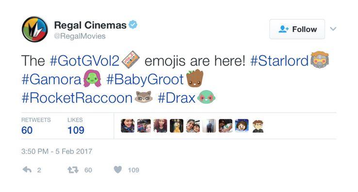 Guardians of the Galaxy 2 Gets Twitter Emoji | ScreenRant