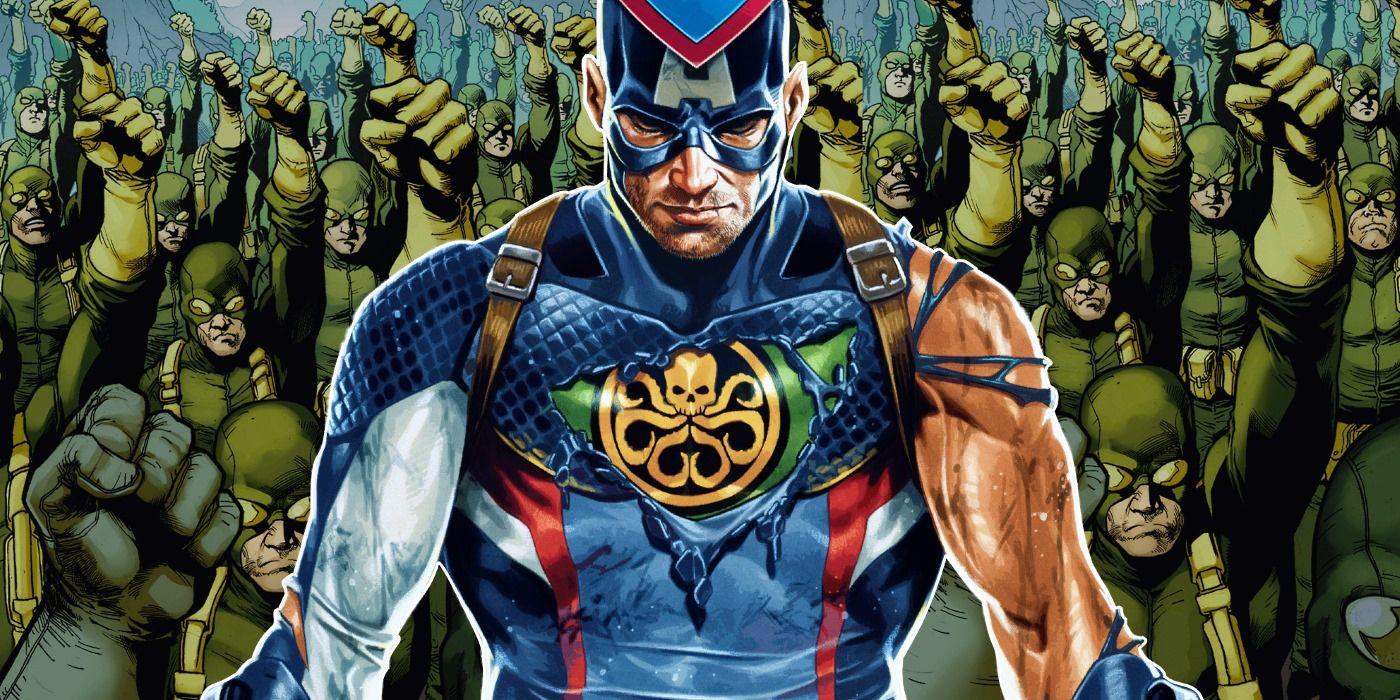 Marvel Reveals Captain America Was ALWAYS Evil