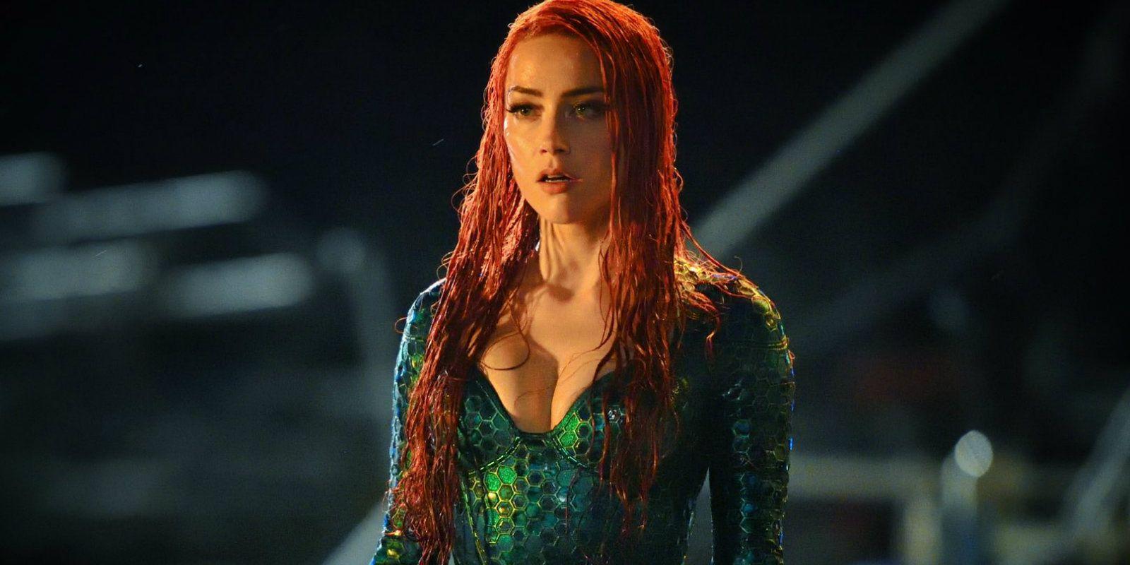 Amber Heard Says Mera Looks Comic Book Accurate In Aquaman