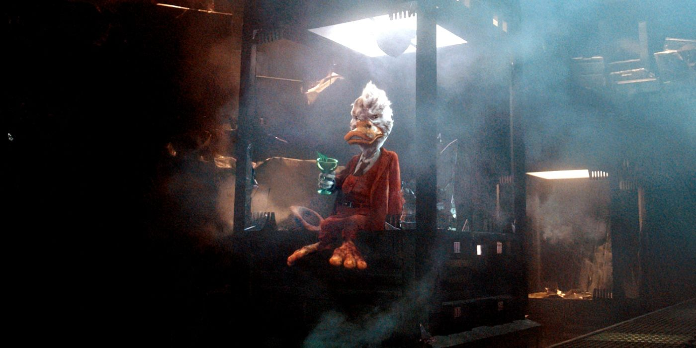 Guardians Of The Galaxy 2 Howard The Duck Art Screenrant