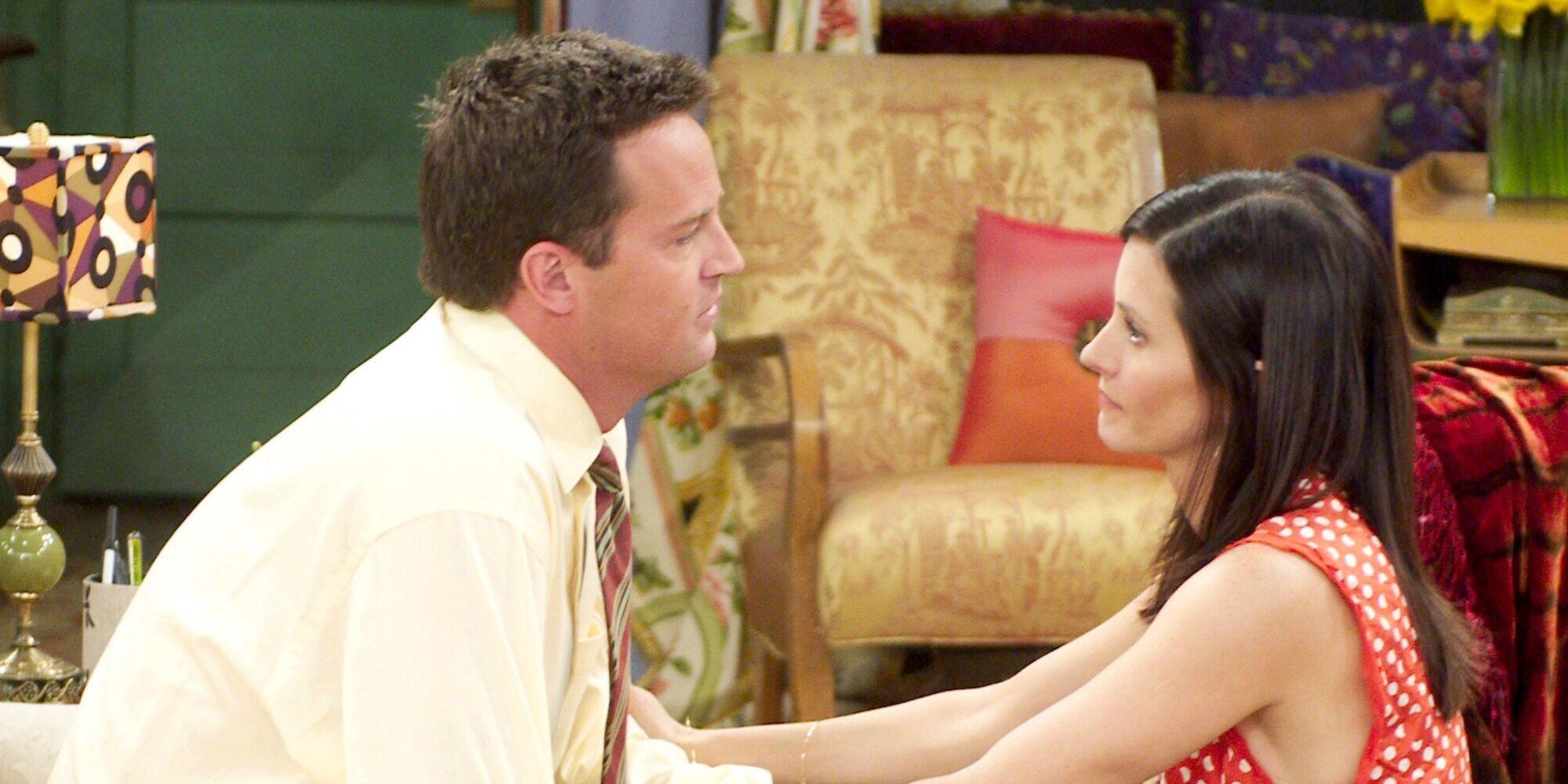 Chandler monica dating