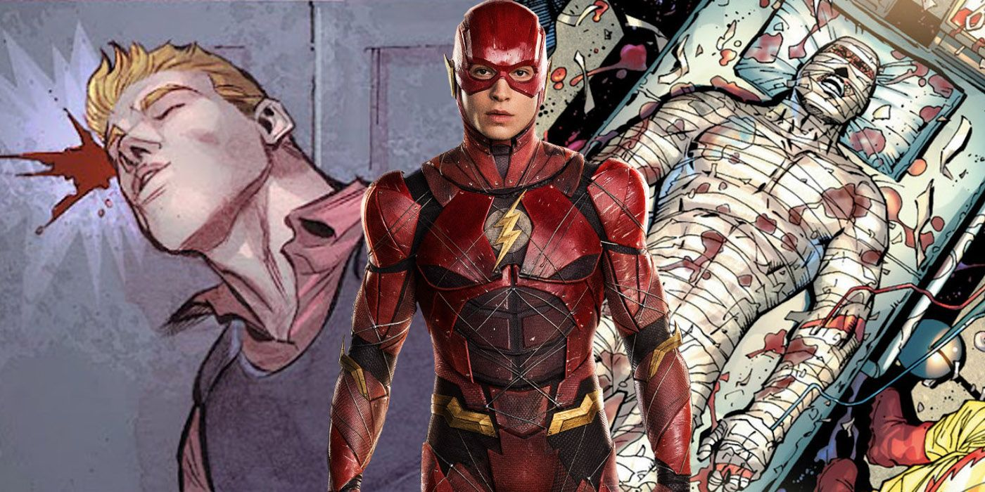 The Flash's 15 Most Brutal Injuries | ScreenRant