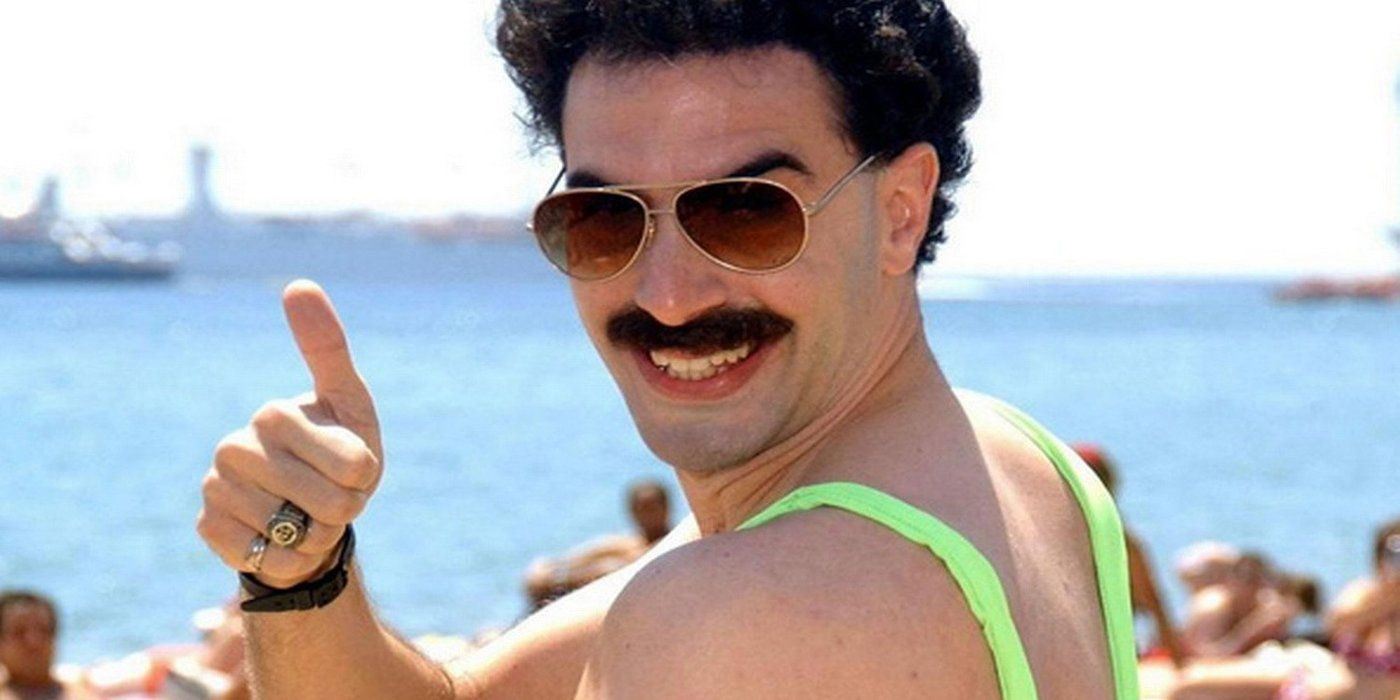 5707e4d20d Tourists Arrested For Wearing Borat Swimsuit | ScreenRant