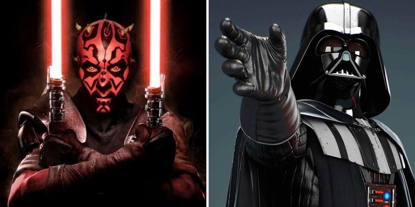 Reasons Darth Maul Is Better Than Darth Vader | ScreenRant
