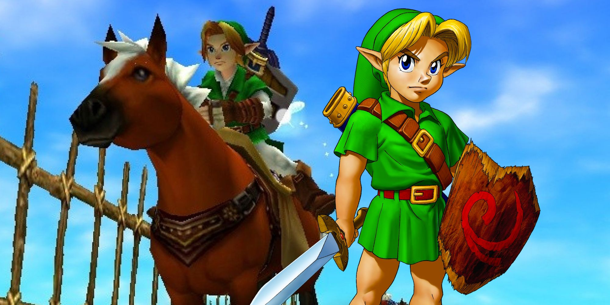 Zelda ocarina of time fishing game prizes