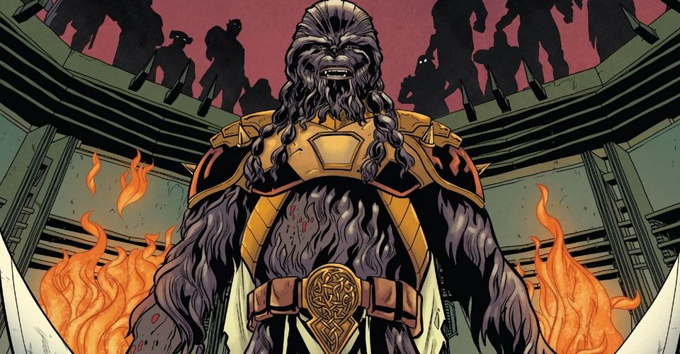 Star Wars Comic Sheds New Light on Wookiee Life Debts