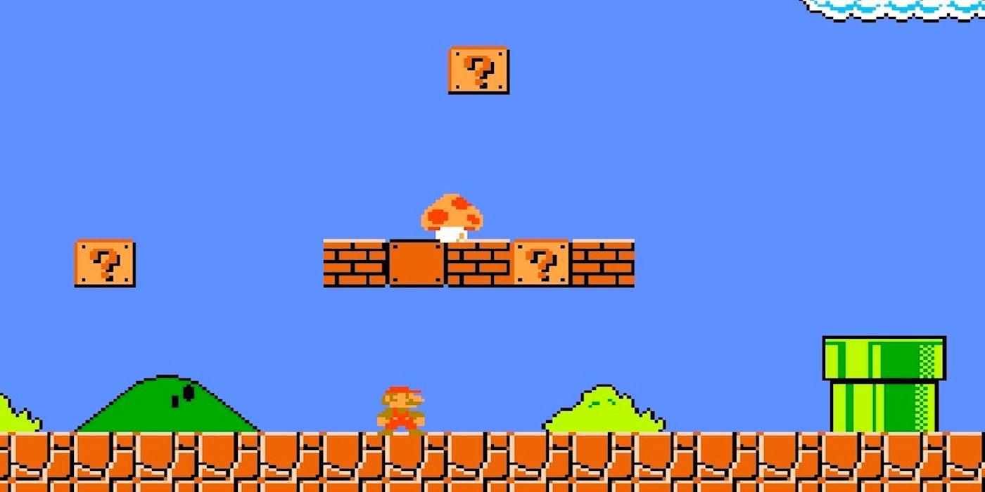Super Mario Bros Cogumelo Mario