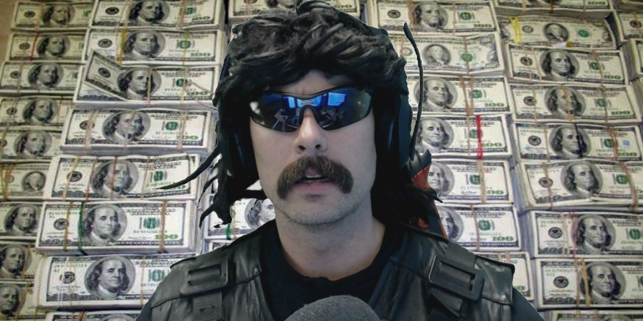 Dr Disrespect Cries Meeting Fan During Stream Screenrant