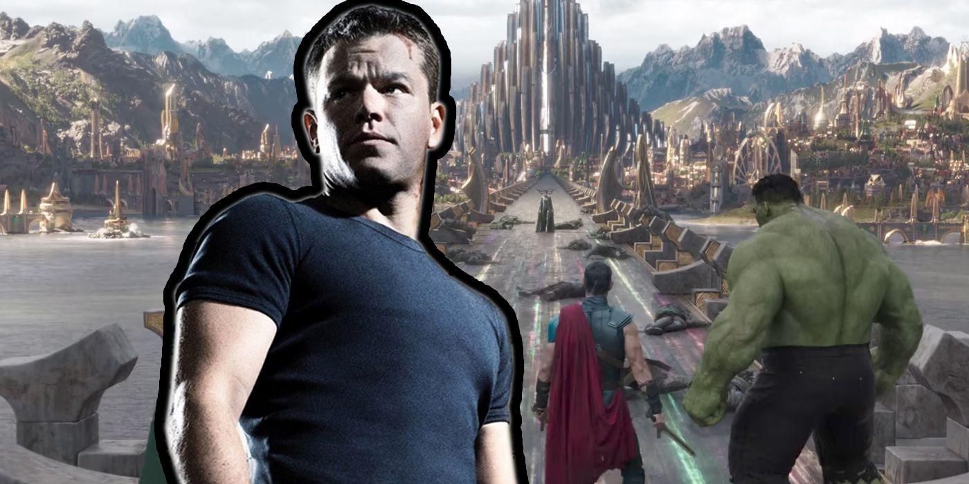 Matt Damon Thor 3