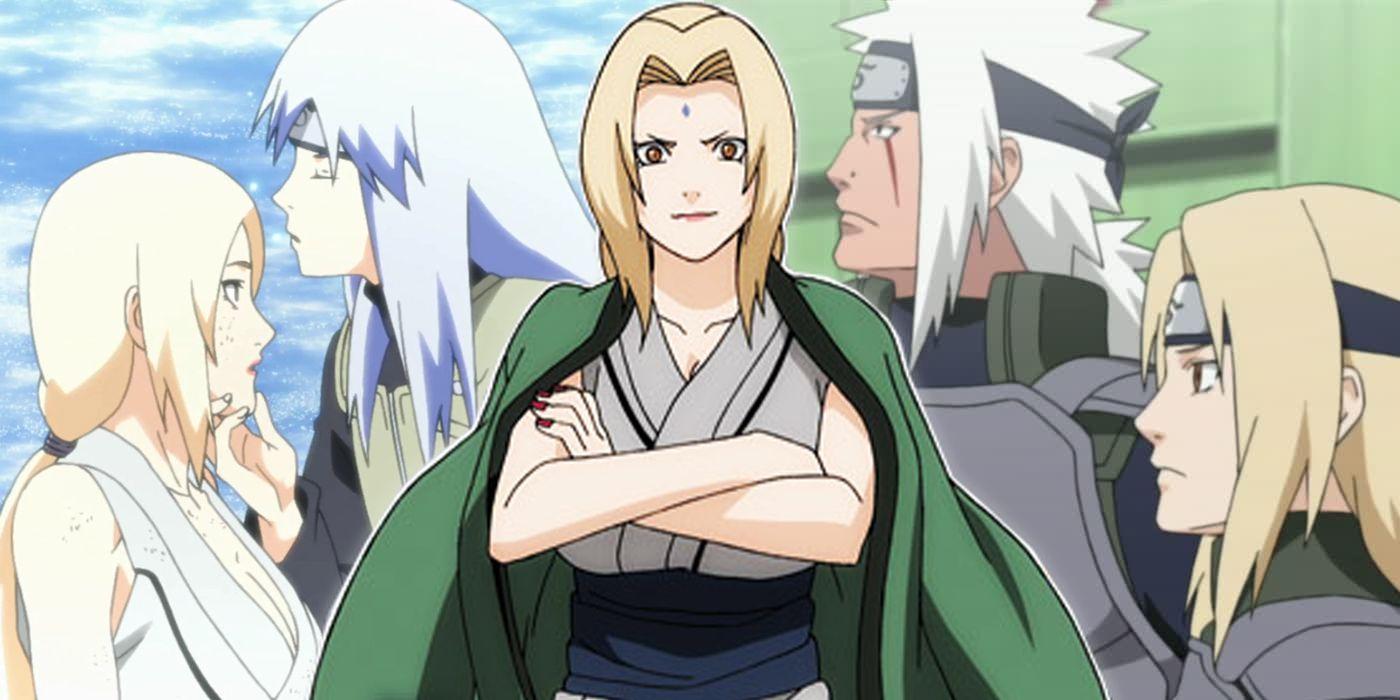 Naruto tsunade sexy