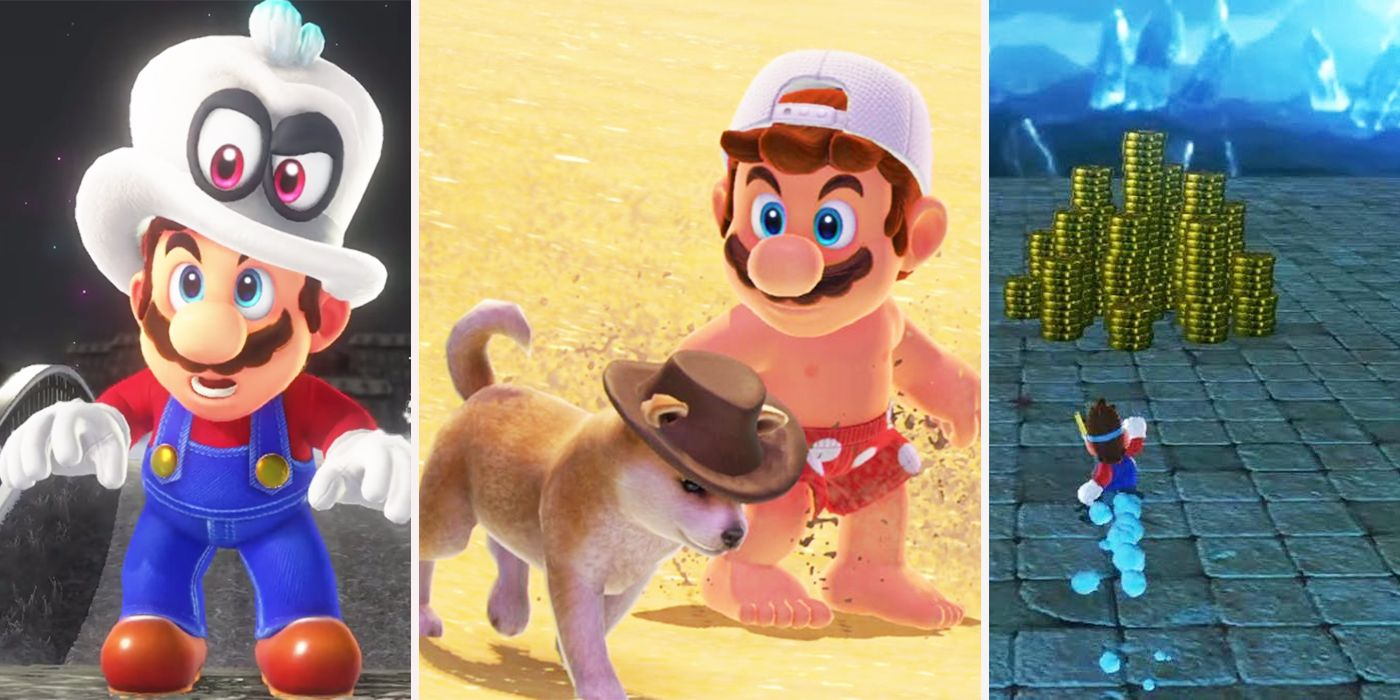 Things You Can Do In Super Mario Odyssey | ScreenRant