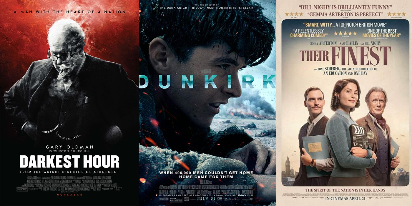 2017's Unofficial Dunkirk Trilogy   ScreenRant