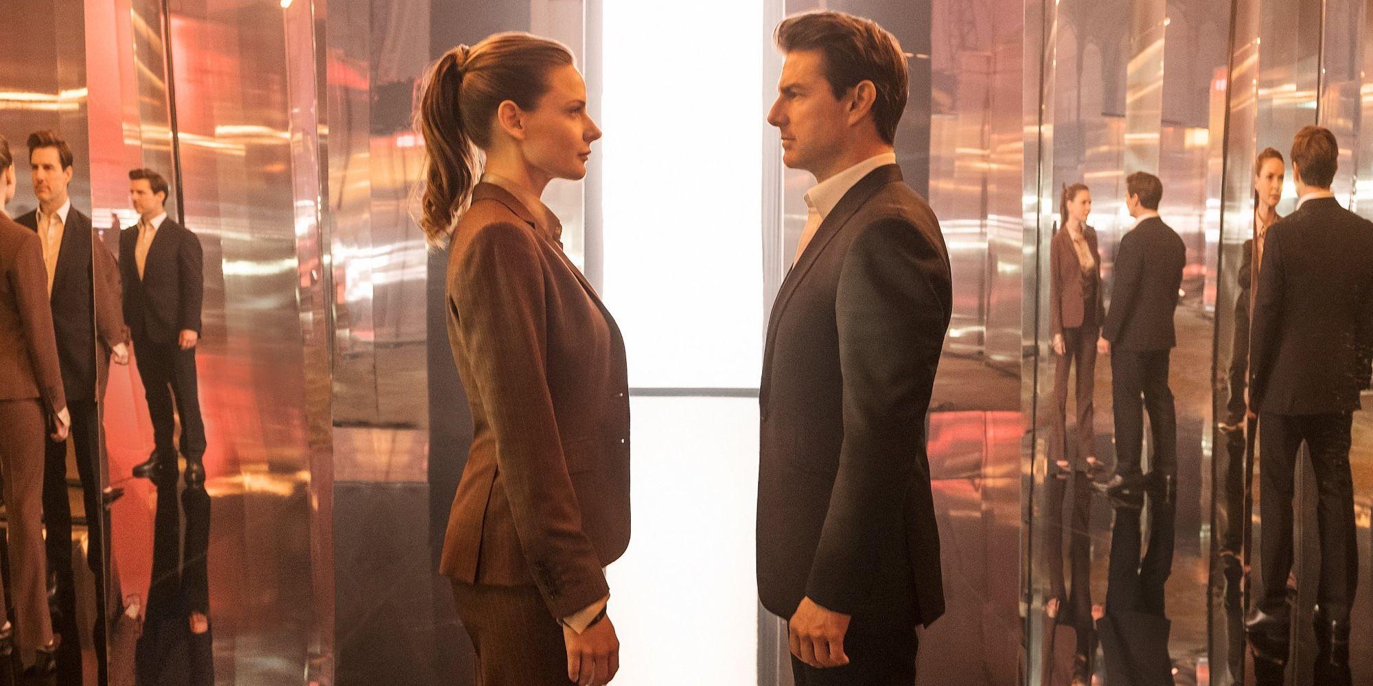 Tom Cruise & Rebec...