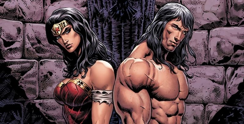 Wonder Woman Gives Her Lasso To Conan The Barbarian | Screen