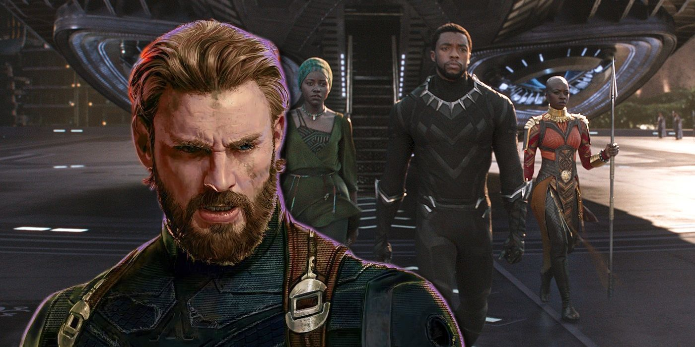 captain marvel black panther