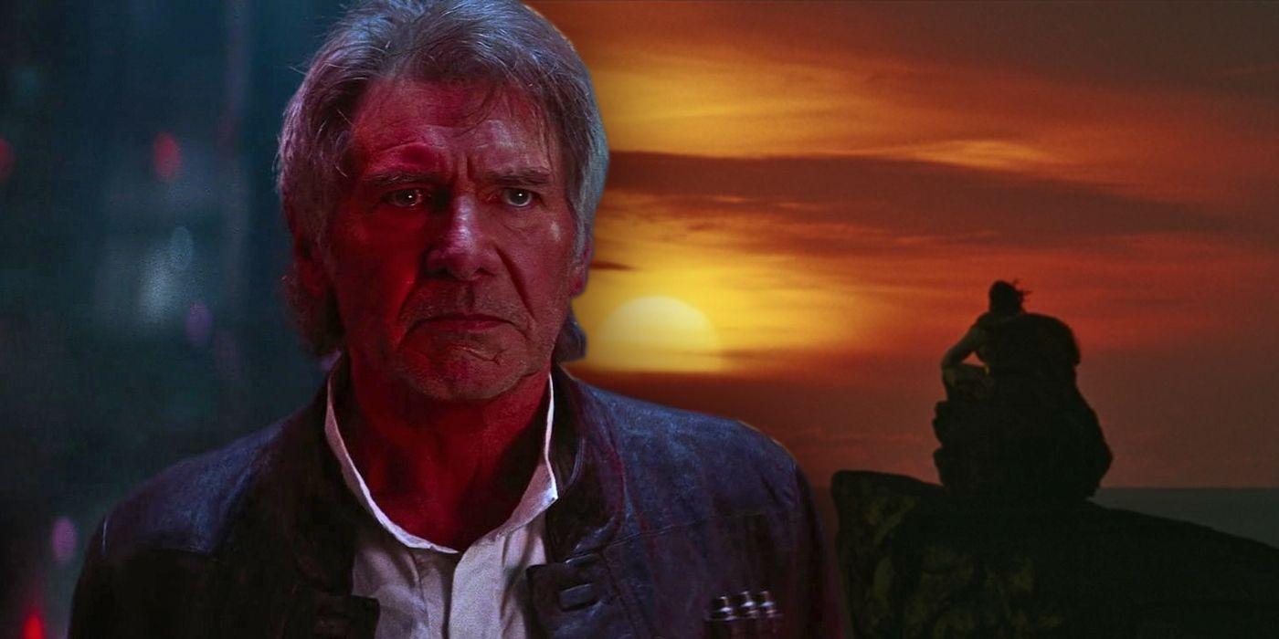 star wars luke s death was better than han s screenrant