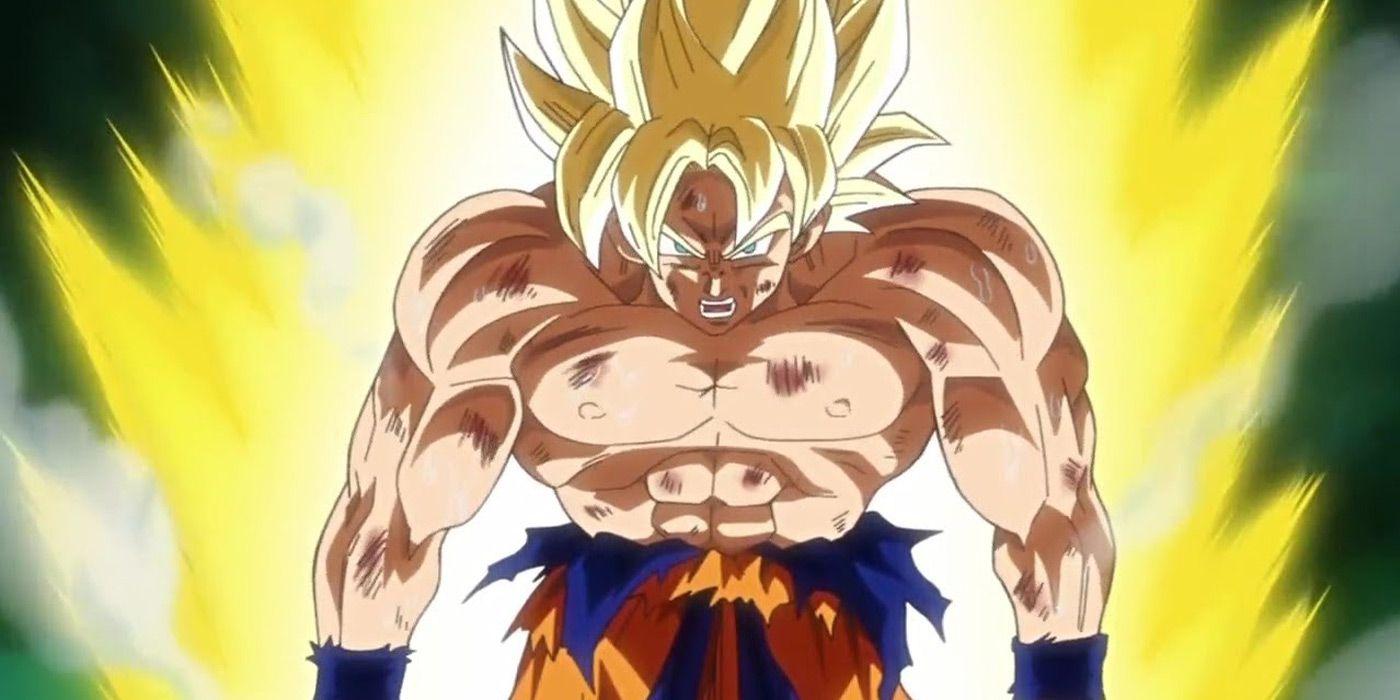 Don 39 t expect goku in super smash bros ultimate screenrant - Goku super sayen ...