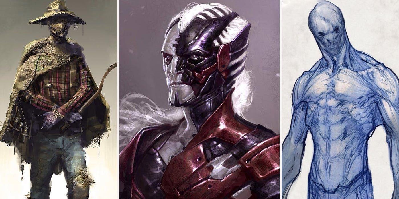 Superhero Villain Concept Art