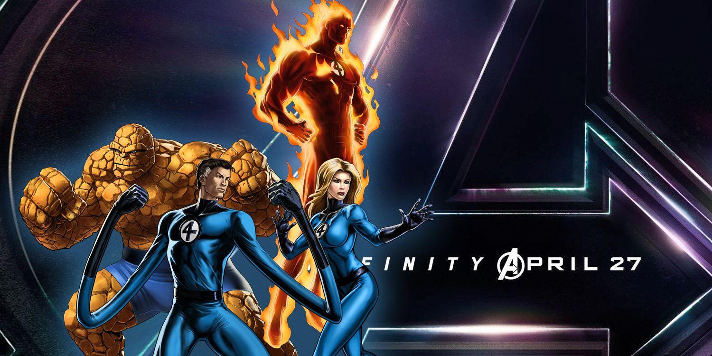 Marvel Teasing Fantastic Four In Avengers 3?