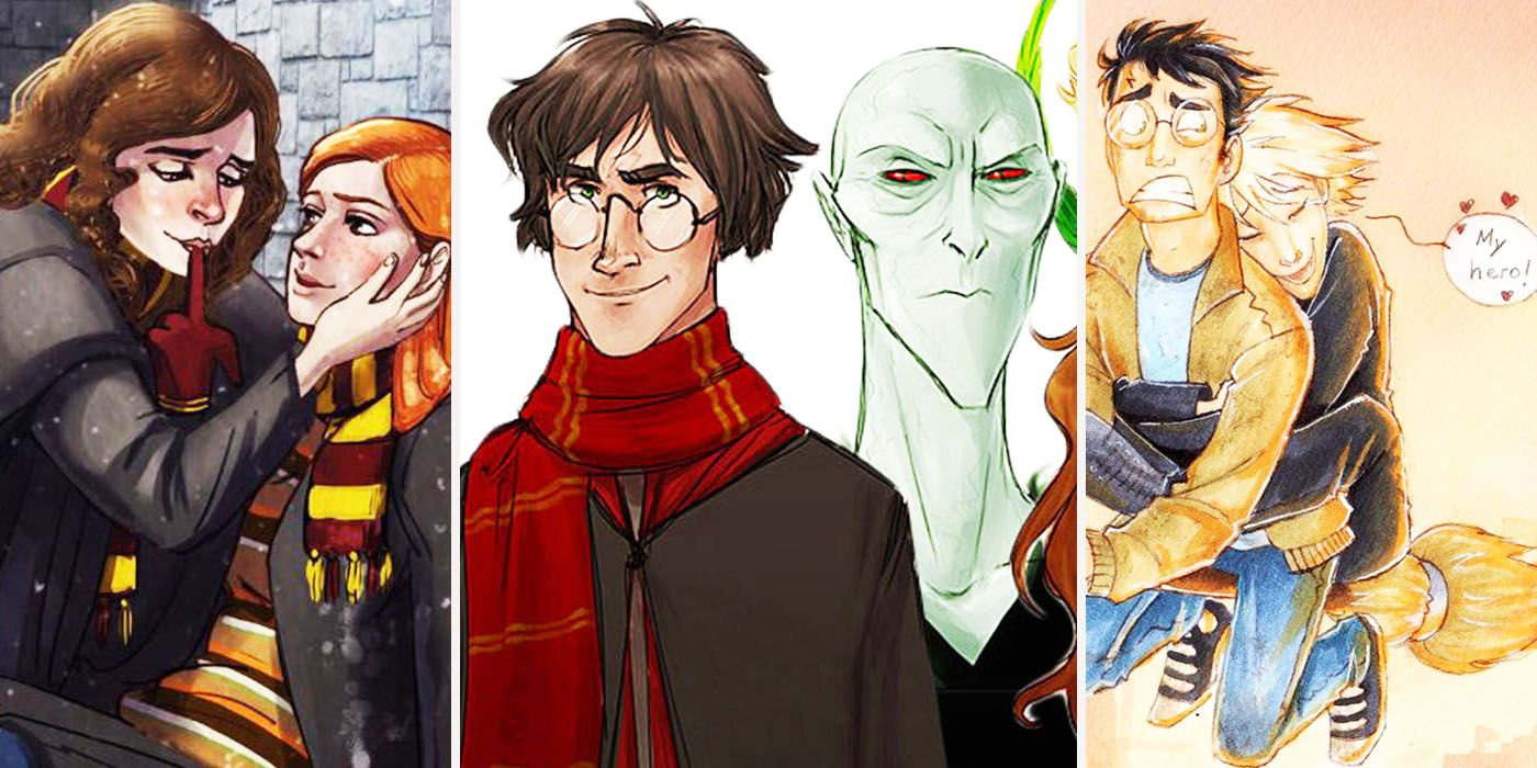 15 Crazy Harry Potter Fan Redesigns That Will Change Everything