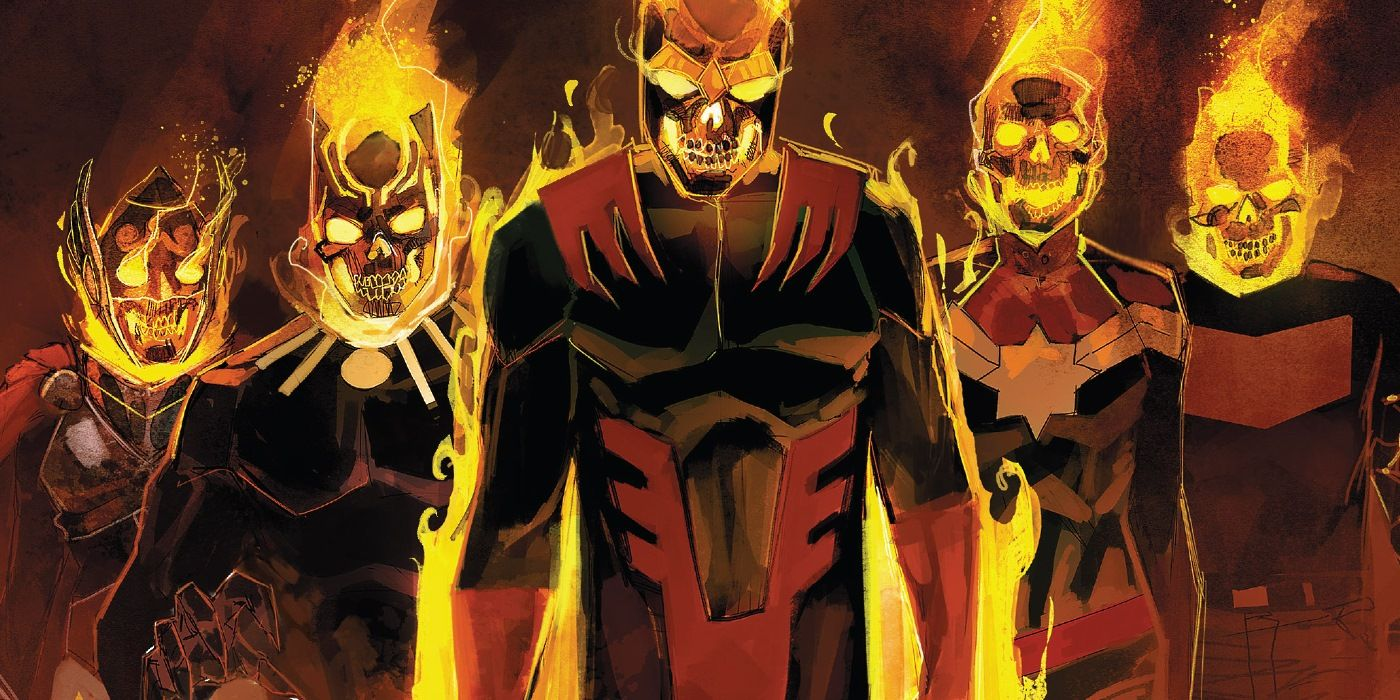 Marvel's Avengers Turn Into a Team of Ghost Riders | ScreenRant