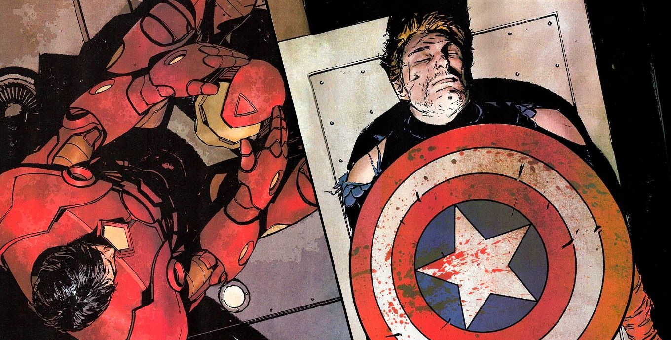 the best captain america death scenes in comics | screenrant