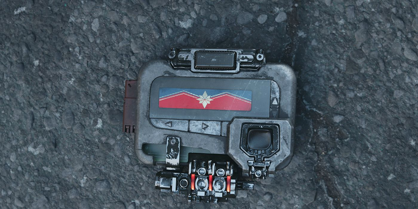 Infinity War Concept Art Shows Alternate Design for Captain Marvel Pager