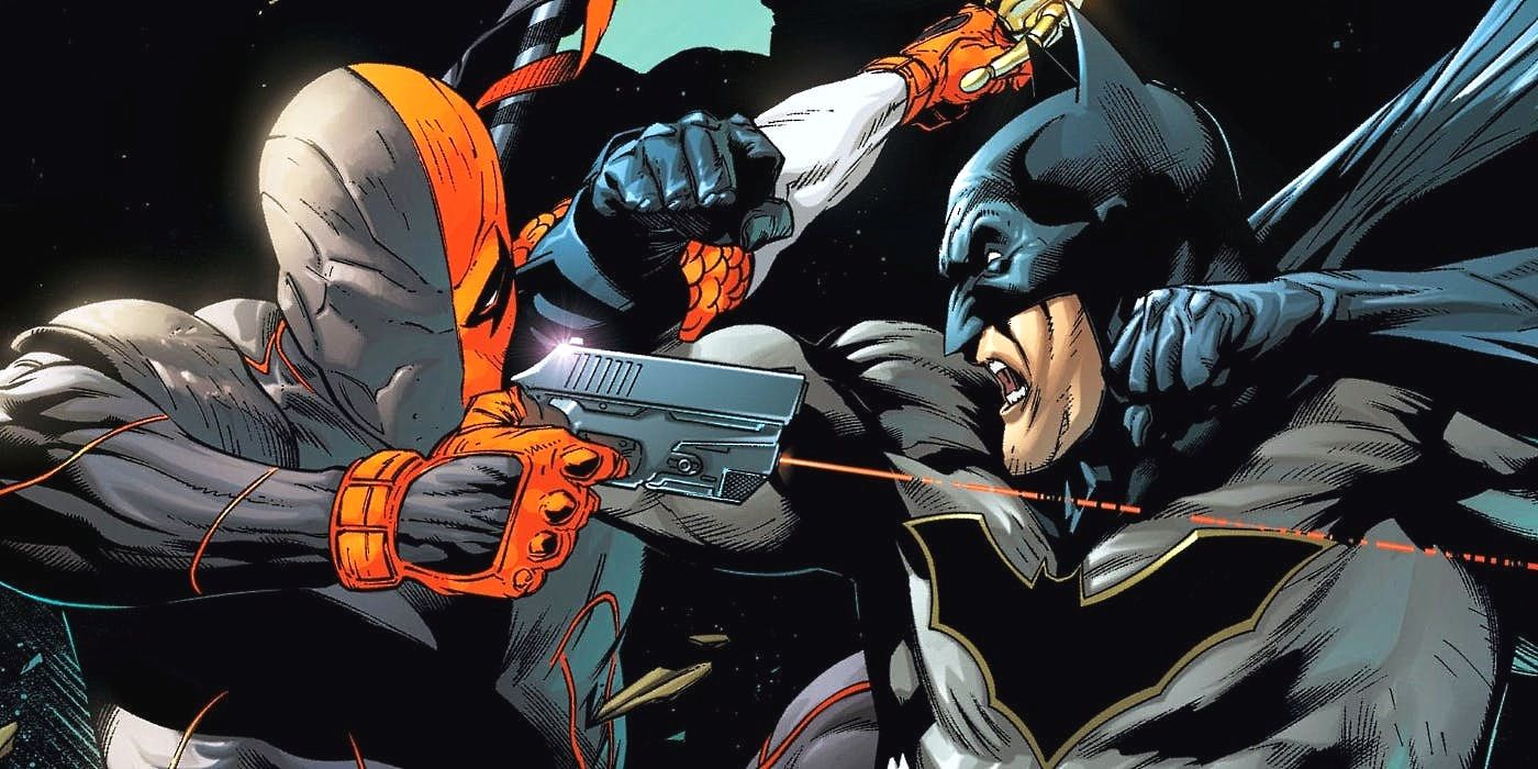 Deathstroke's The Real Father of Batman's Son Damian?