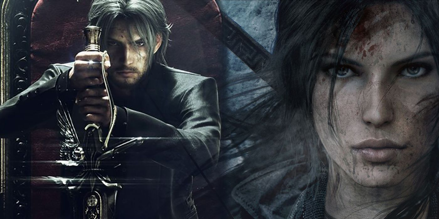 Final Fantasy Xv Wallpapers The Best 79 Images In 2018: Shadow Of The Tomb Raider & Final Fantasy XV To Crossover