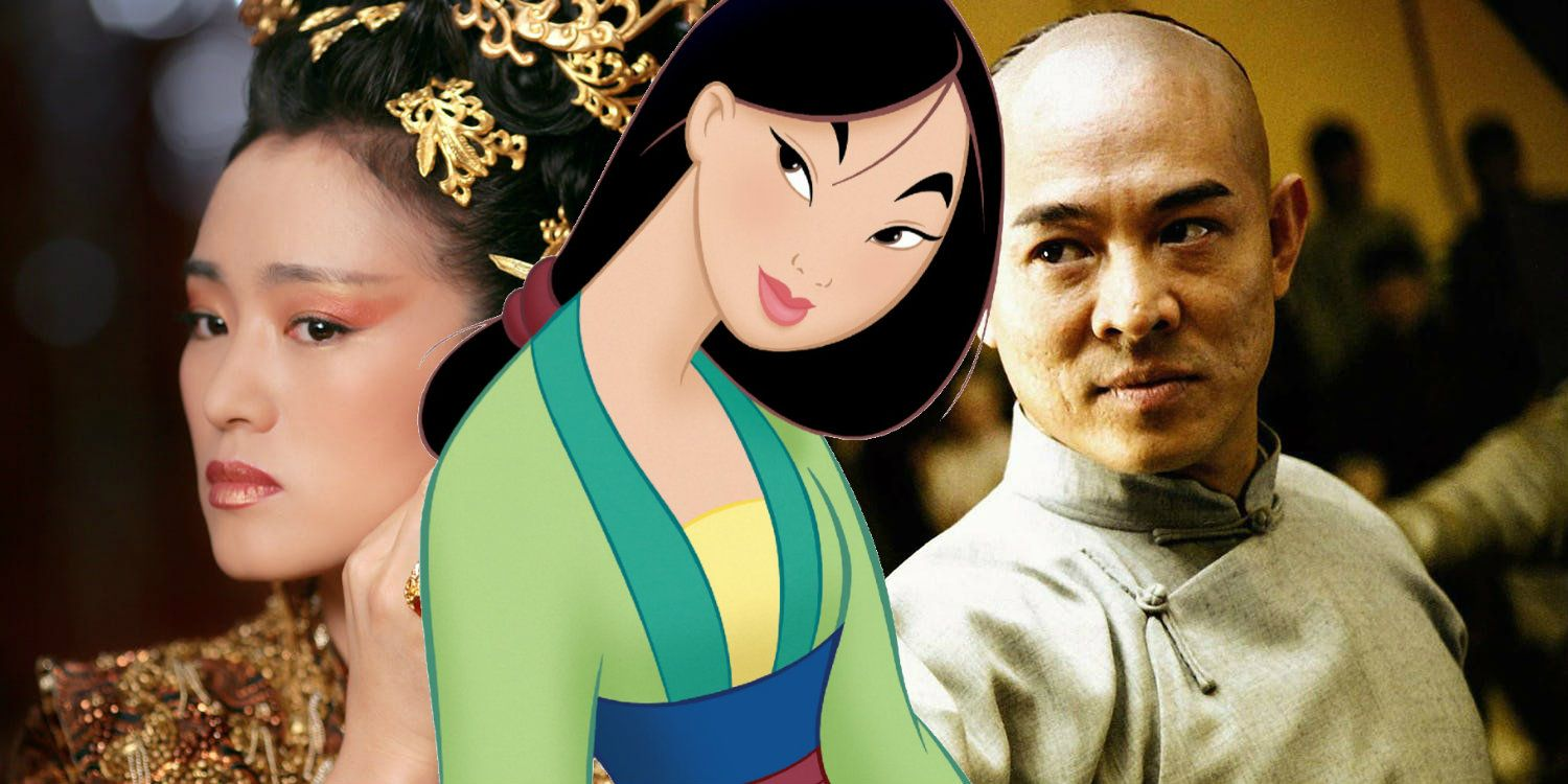 Disney S Live Action Mulan Movie Casts Jet Li Gong Li