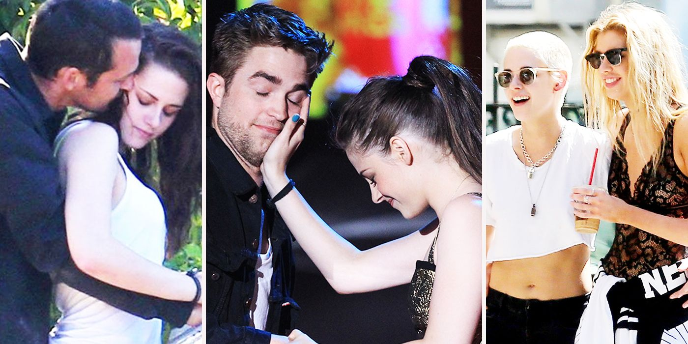Kristen stewart and robert pattinson started dating a guy