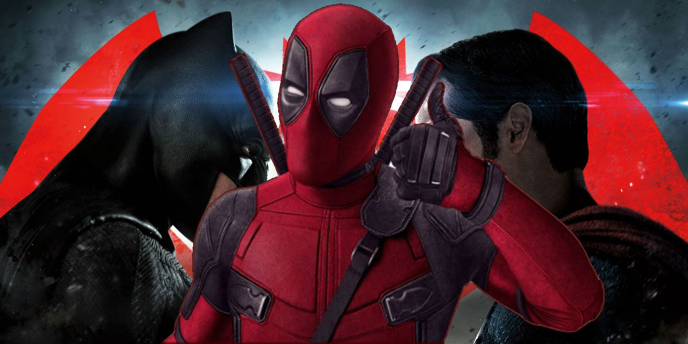 New Deadpool 2 Clip Takes A Shot At Batman V Superman