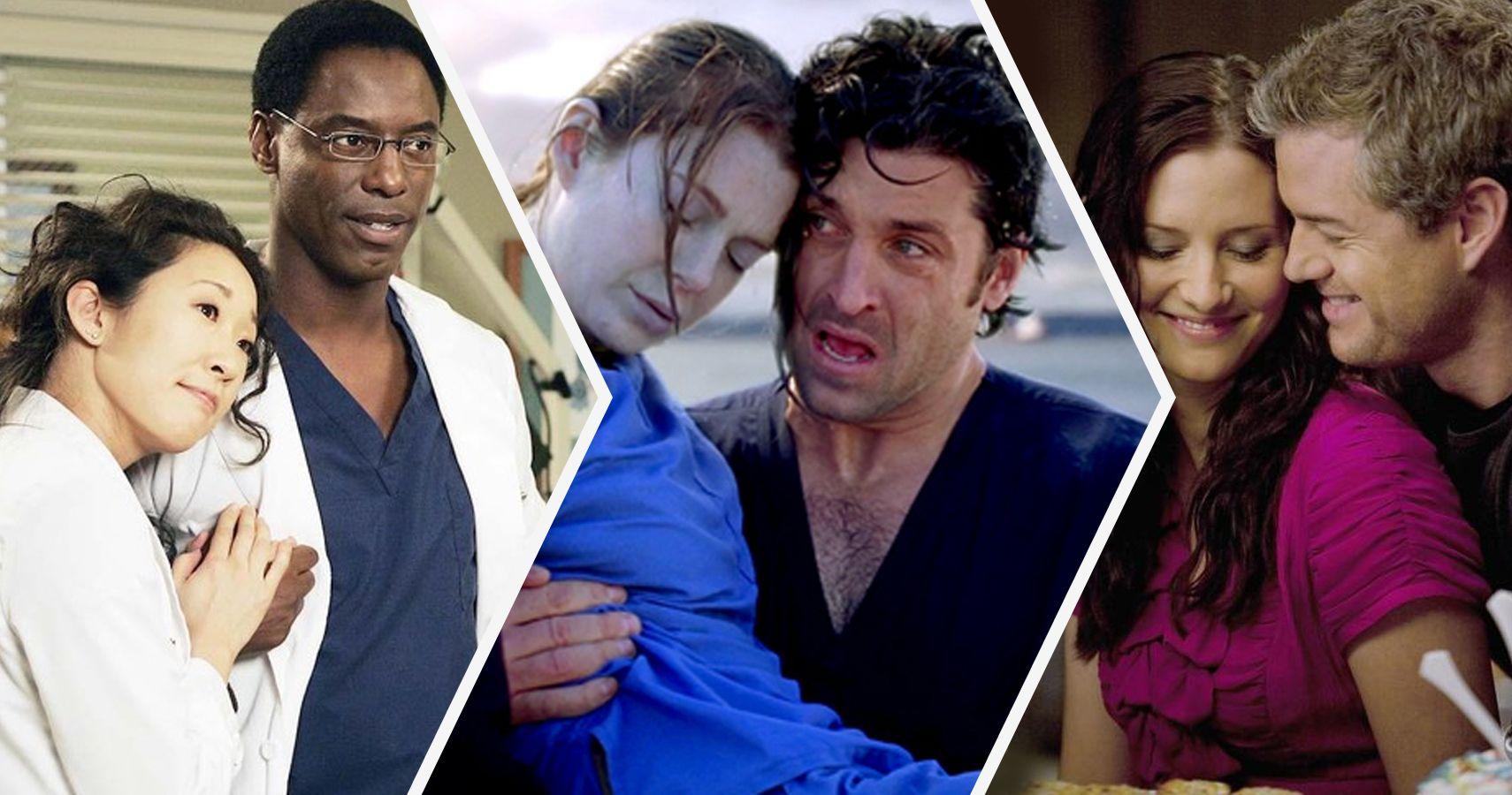Every Major Grey\'s Anatomy Couple Ranked | ScreenRant