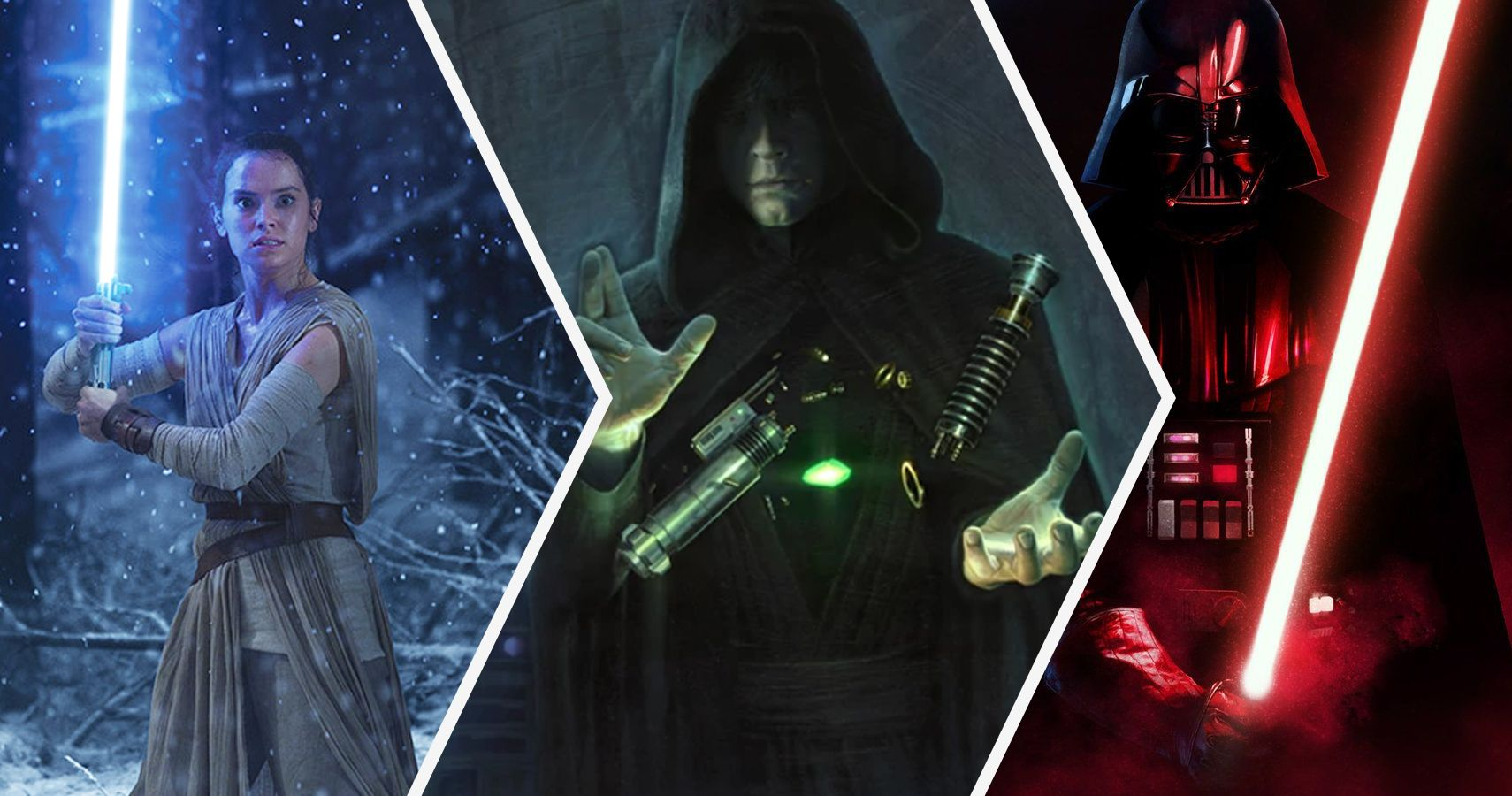 Darth Vectivus Lightsaber: Star Wars: 15 Things Only True Fans Know About Luke's