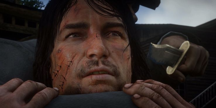 Red Dead Redemption 2: REAL Story Behind John Marston's Scars Is Dumb