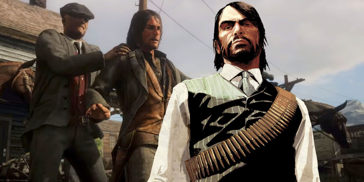 John Marston Spotted In Red Dead Redemption 2 Screenrant
