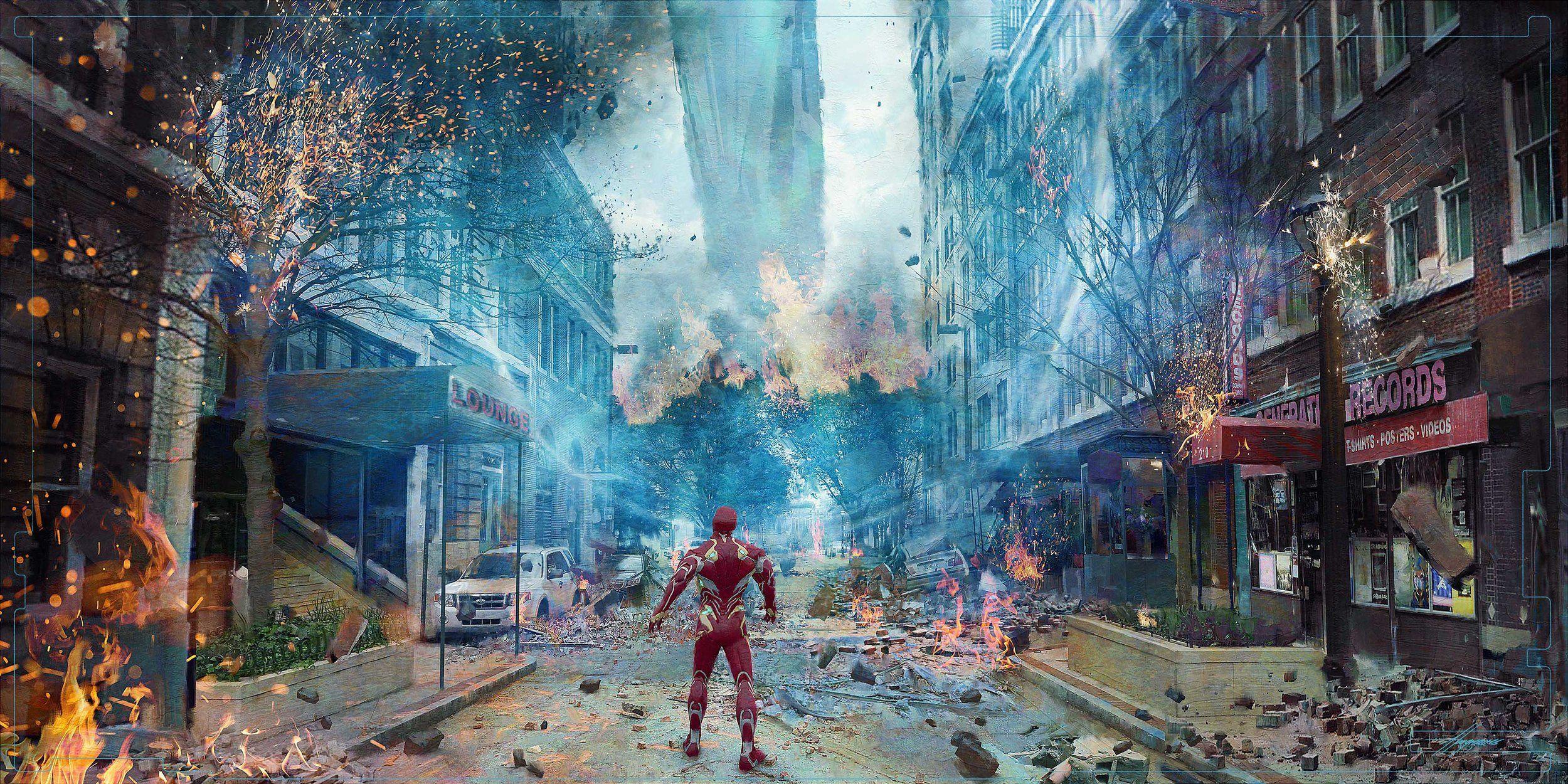 Home Design Story Game New Avengers Infinity War Concept Art Screenrant